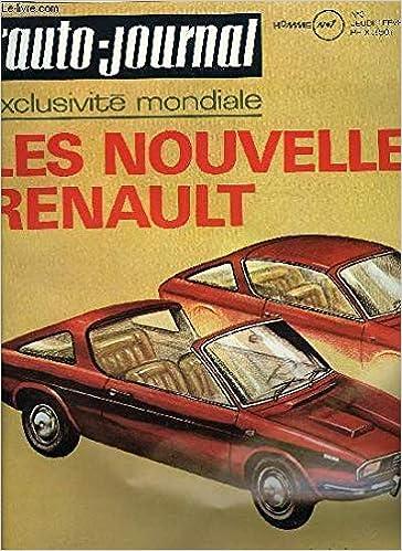 comment choisir mode de premier ordre bien pas cher Amazon.fr - L'AUTO-JOURNAL N°3 - 1971 Sommaire : Essais auto ...