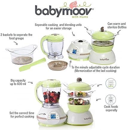 Babymoov NUTRIBABY™ Classic - Robot de Cocina Multifuncional 5-en ...
