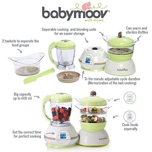 Babymoov NUTRIBABYTM Classic - Robot de Cocina Multifuncional 5-en-1 (UK IMPORT): Amazon.es: Bebé