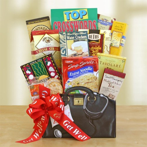 Healthy Wishes Get Well Soon Gift Basket | Get Well Gift Organic Stores Gift Baskets (Organic Stores Gift Baskets)