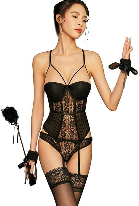 HONG-Sexual Lenceria Sexy Traje Sexy Pasion tentacion, a: Amazon ...