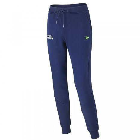 New Era Uomo Pantaloni   Pantalone ginnico Team Apparel French Terry  Seattle Seahawks blu S f71041052d62
