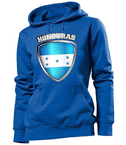 Copa del Mundo de fútbol - Campeonato de Europa de Fútbol - HONDURAS FAN mujer Capucha Tamaño S to XXL varios colores S-XXL Azul