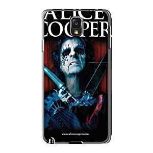 Scratch Resistant Hard Phone Case For Samsung Galaxy Note3 (Ezq18370pqRt) Custom Vivid Alice Cooper Band Series