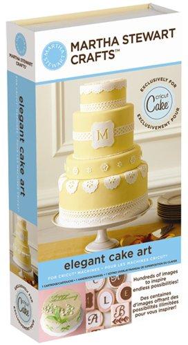 : Cricut Martha Stewart Crafts Cartridge, Elegant Cake Art