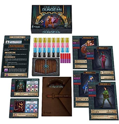Blumie Shop Lot de Deux Jeux VF One Deck Dungeon For/êt des Ombres 1 Yoyo Blumie