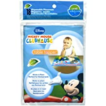 Neat Solutions Disney Mickey Mouse Table Topper Disposable Stick-on Placemats - 18 Count