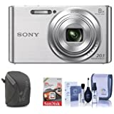 Sony Cyber-shot DSC-W830 Digital Camera Bundle. Value Kit with Accessories