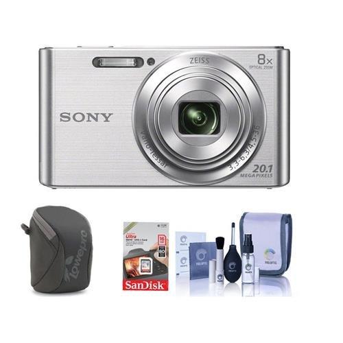 Sony Cyber-shot DSC-W830 Digital Camera Bundle. Value Kit wi