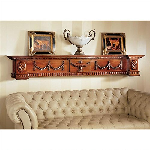 Design Toscano The Dunbridge Soupiere Mantel Pediment