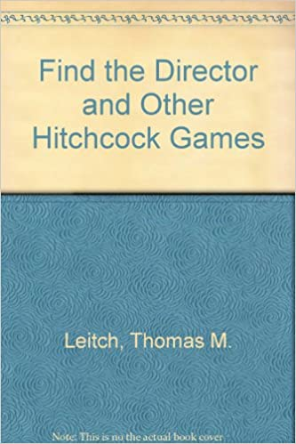 Book Find the Director and Other Hitchcock Games