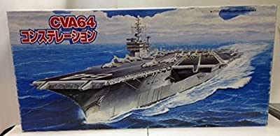 "1/700 US Navy aircraft carrier CVA64 constellation ""Sea Way Model Series"""