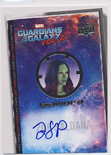 2017 Guardians of the Galaxy Series 2 Trading Card Set Autograph MT2 Zoe Saldana