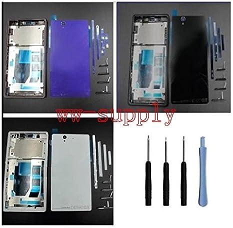 Amazon.com: Carcasa Front Bezel Frame + Tapa de la batería ...