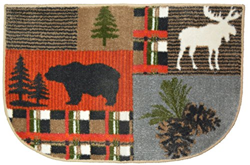 "Wholesale Rug Source Bear Moos Accent Rug, 19""x29"", Multicolor"