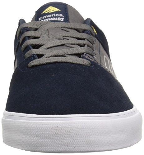 Emerica The Reynolds Low Vulc, Color: Navy/Grey, Size: 45.5 Eu / 11.5 Us / 10.5 Uk