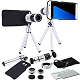 S7 Edge Lens, MP-Mall 4 in 1 Camera Lens Kit for Samsung Galaxy S7 Edge