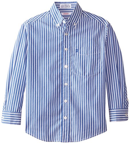 IZOD Long Sleeve Stripe Woven Shirt product image