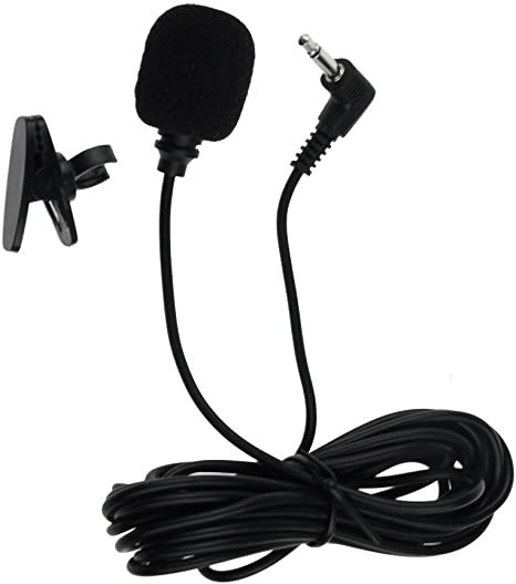 3.5mm Jack Universal Bluetooth Microphone Handsfree Mic For Car Stereos