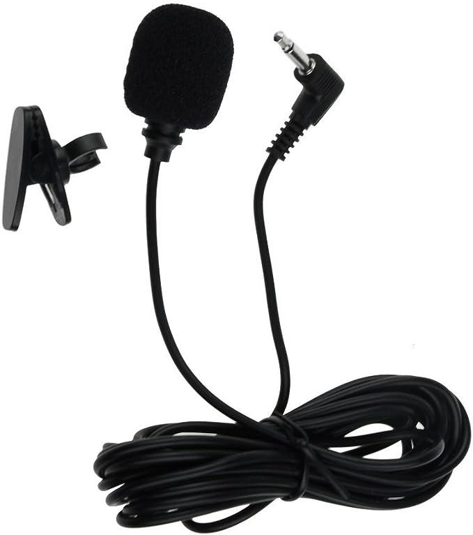 Micrófono BT Bluetooth estéreo de coche con SOLAMENTE conector en ángulo 3,5 mm