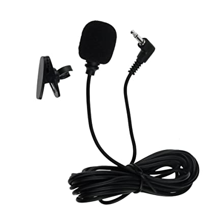 Amazon Com Malanzs 3 5mm External Microphone Assembly Mic Car