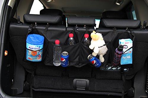 INNX Seatback Storage Organizer for SUV, Minivan, Trucks, 48