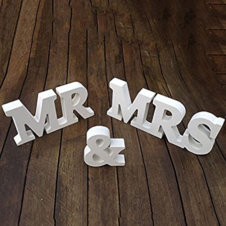 Wrone tm new wooden mr mrs ornaments wedding supplies wedding wrone tm new wooden mr mrs ornaments wedding supplies wedding decoration mr junglespirit Choice Image