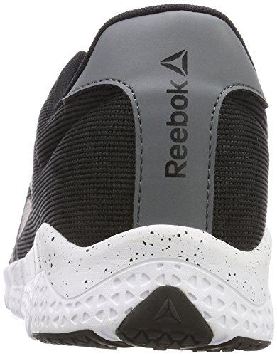 black 2 Noir 000 wht 0 alloy Chaussures Trainflex De Homme Fitness Reebok UTqF8nq