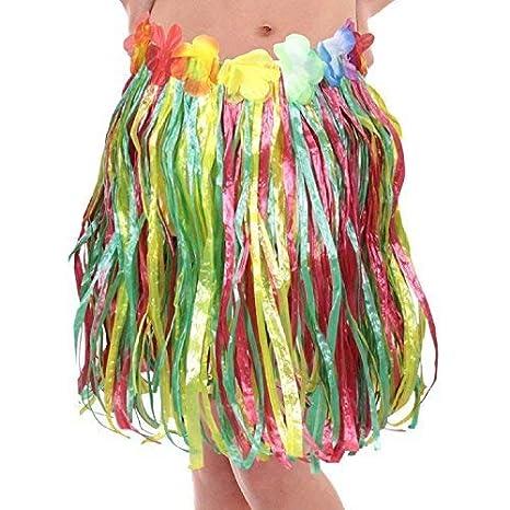 Fancy Me Falda Hawaiana para niños y niñas, diseño de Hula de Lei ...