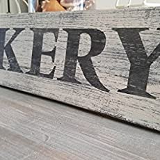 Bakery Wood Sign Dining Room Sign Kitchen Decor Rustic Wood Sign Farmhouse.