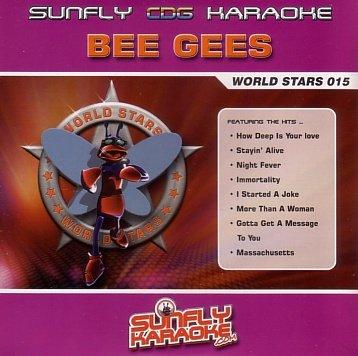 Bee Gees Sunfly Karaoke World Stars CDG Disc