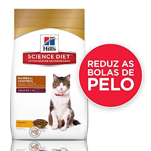 Ração Hill's Science Diet para Gatos Adultos - Controle de Bolas de Pelo - 3kg