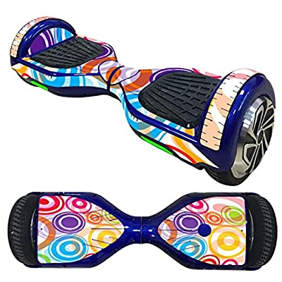 Self Balancing Scooters Skin Sticker Classic Hoverboard for Decoration, hoverboards, hoverboards for Teens: Home & Kitchen