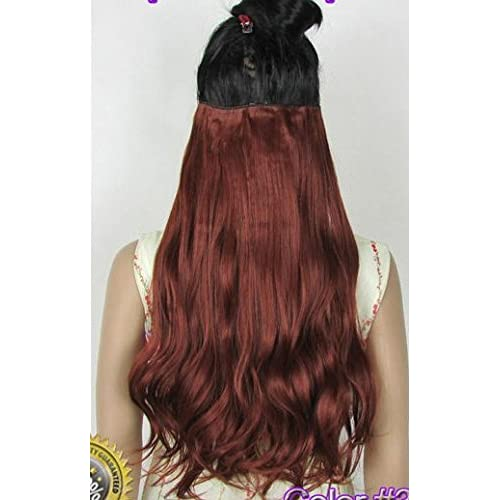 50%OFF Wavy Curly One Piece Clip-in Hair