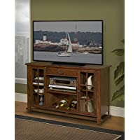New Classic Madera Entertainment Console, African Chestnut