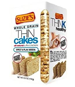 Suzies Spelt And Flax Thin Cakes