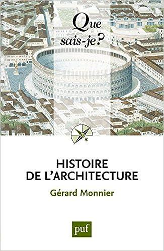 Histoire de l'architecture pdf