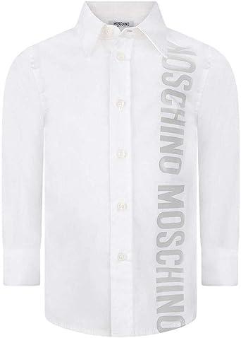 Moschino Camisa de bebé de algodón, 9/12 meses, blanco: Amazon.es: Ropa y accesorios