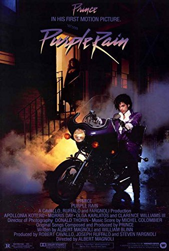 purple rain movie poster prince