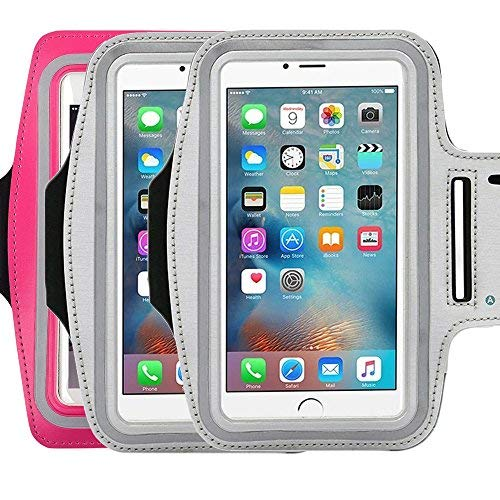 (Water Resistant Sports running Armband,3Pack CaseHQ sporty sweat proof Arm Bag armband case with Key Holder for iPhone 7 7plus 6 Plus 6S Plus,Samsung Galaxy S6/S5, Note 4 Bundle with Screen Protector)