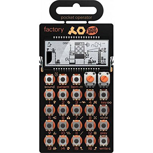 Teenage Engineering TE010AS016 PO-16 Factory Lead Synthesizer & Sequencer by Teenage Engineering