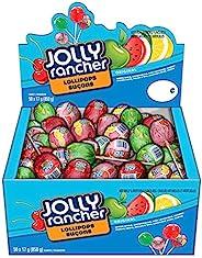 Jolly Rancher Candy Lollipops Assortment, 50 Count (850 Gram)