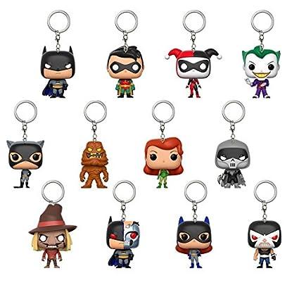 Amazon.com: Funko Pop Keychain Blindbag: DC Comics-Batman The ...