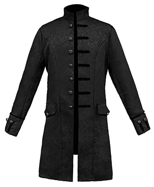 Amazon.com: LETSQK Mens Steampunk Halloween Costume Stylish ...