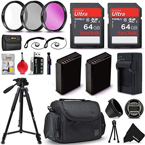 Professional Accessories Bundle Kit for Nikon D3300, D3200, D3100, D5100, D5200, D5300 & D5500 DSLR Cameras