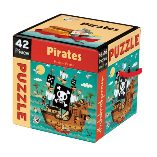 Mudpuppy Pirates 42 PC Puzzle