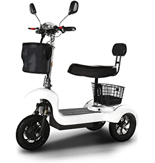 Amazon.com: CYGGL Mini Scooter eléctrico plegable para ...