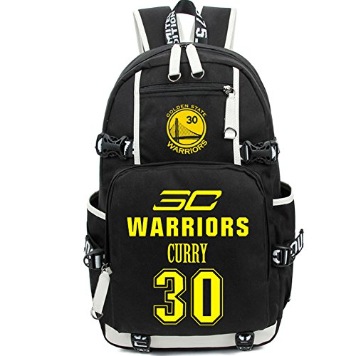 YOURNELO Basketball Player Rucksack School Backpack Bookbag (Curry) 6a9001b70f
