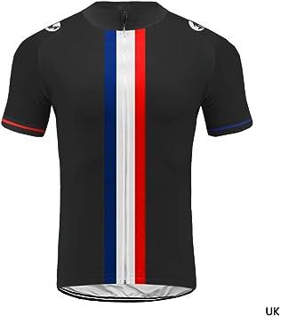 Men Sports Team Cycling Jersey Sets Bike Bicycle Shirt Top Short Sleeve Clothing