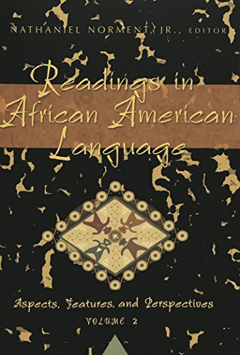 Search : Readings in African American Language: Aspects, Features, and Perspectives, Vol. 2 (African-American Literature and Culture)